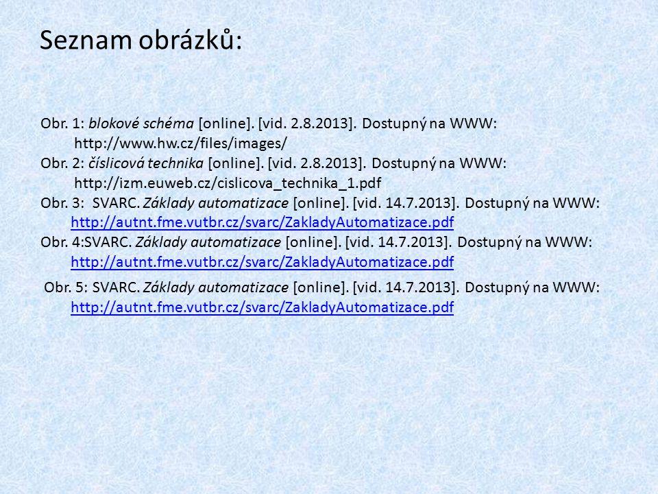 Seznam obrázků: Obr. 1: blokové schéma [online]. [vid. 2.8.2013]. Dostupný na WWW: http://www.hw.cz/files/images/